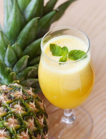 Le jus d'ananas